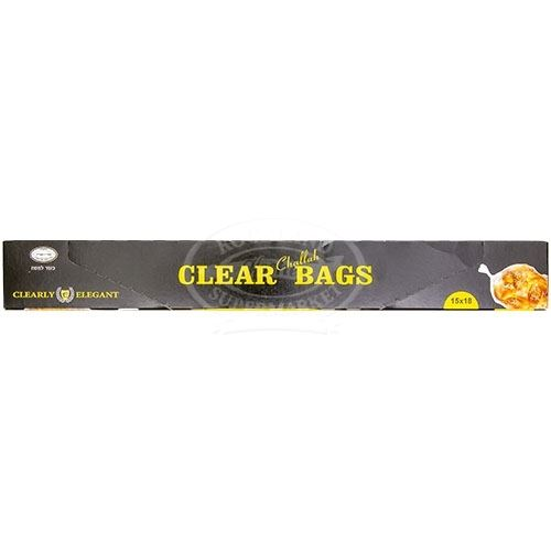 Clearly Elegant Challah Bags Clear, 30 Bag
